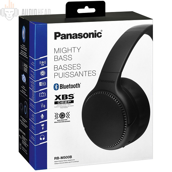 Panasonic RB-M500BGE-K BT Black
