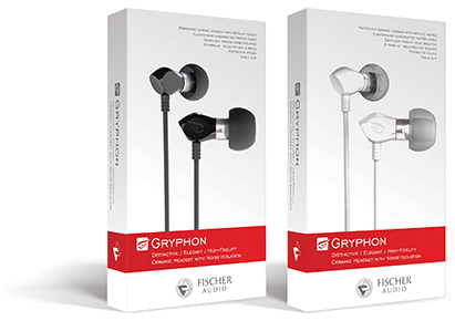 Fischer Audio Gryphon White