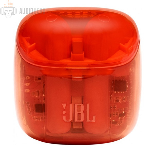 JBL TUNE 225 TWS Orange Ghost Edition