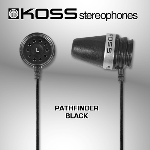 Koss PathFinder Black