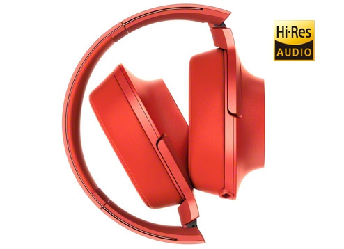 Sony MDR-100AAP H.Ear On Red