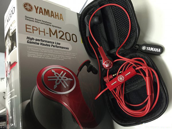 Yamaha EPH-M200 Red