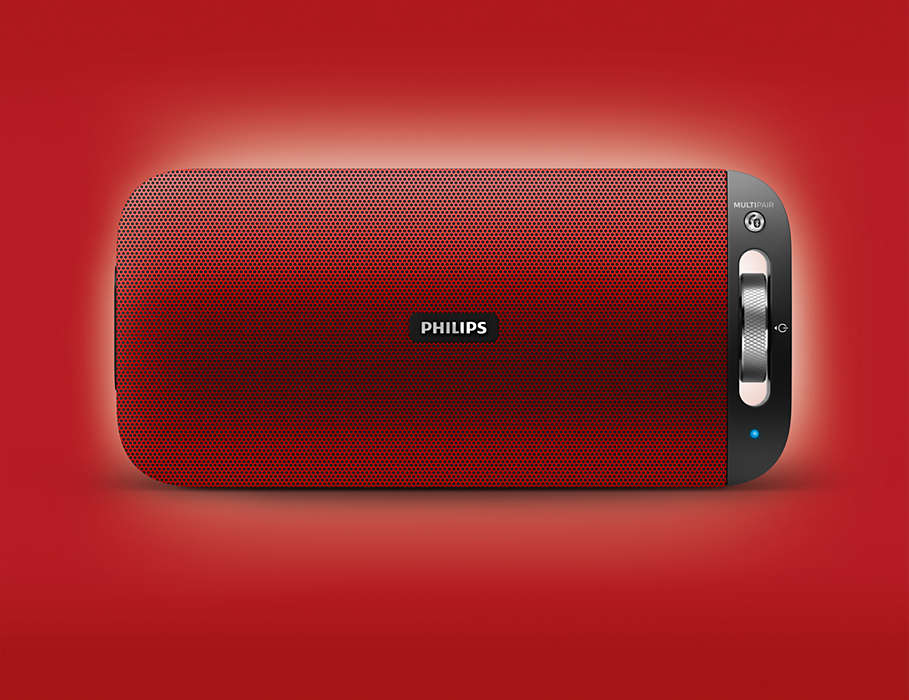 Philips BT3600 Red