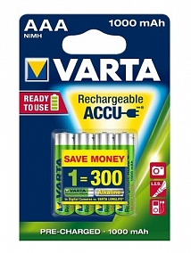 Varta Ready To Use AAA 1000 mAh (4 шт)