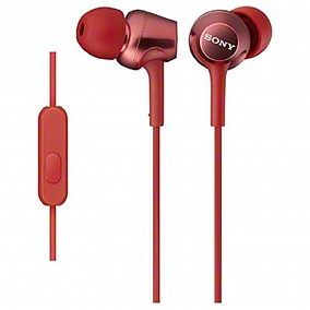Sony MDR-EX250AP Red