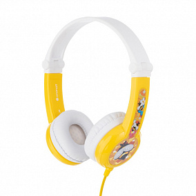 BuddyPhones Connect Foldable Yellow