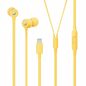 Beats urBeats3 Earphones with Lightning Connector Yellow MUHU2EE/A