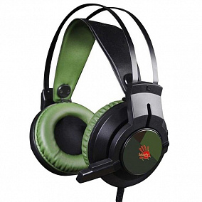 A4Tech Bloody J450 Black-Green