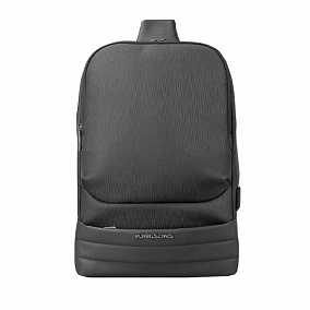 "Kingsons KS3192W Black 13,3"" Laptop Single Strap Backpack"