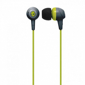 Skullcandy Jib In-Ear Gray/HotLime/HotLime S2DUFZ-385