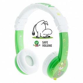 BuddyPhones Moomin Limited Edition Green