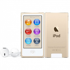 Apple iPod Nano - 16Gb Gold MKMX2RU/A