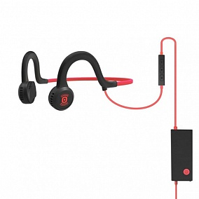 AfterShokz Sportz Titanium with mic Red