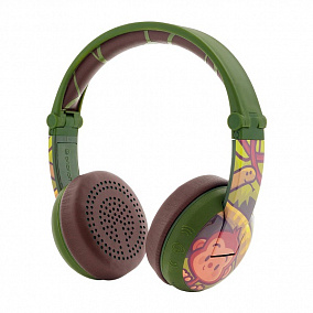 BuddyPhones Wave Monkey Green