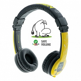 BuddyPhones Moomin Limited Edition Yellow