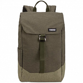 Thule Lithos Backpack 16L Forest Night Lichen