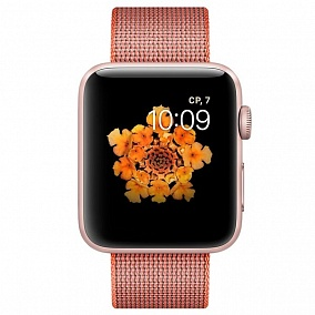Apple Watch Series 2 42mm Pink Gold with Orange Space-Anthracite Band MNPM2RU/A