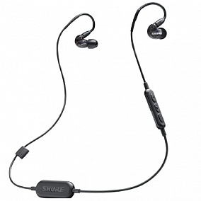 Shure SE215-K-BT1-EFS Wireless Black