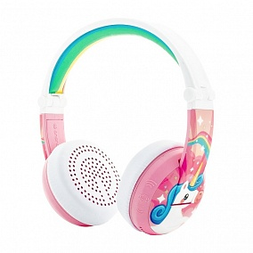 BuddyPhones Wave Unicorn Pink
