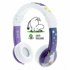 BuddyPhones Moomin Limited Edition Purple