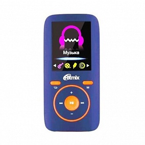 Ritmix RF-4450 4Gb Blue/Orange