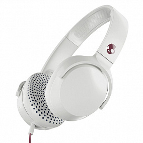 Skullcandy Riff On-Ear W/Mic Vice-Grey-Crimson S5PXY-L635