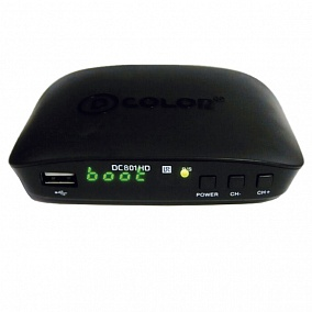 D-Color DVB-T2 DC801HD