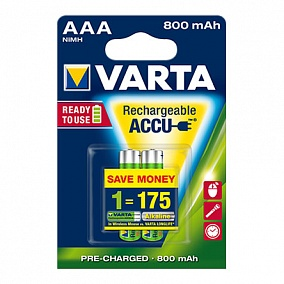 Varta Ready To Use AAA 800 mAh (2 шт)