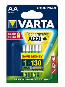 Varta Ready To Use AA 2100 mAh (2 шт)
