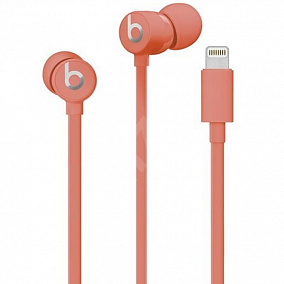 Beats urBeats3 Earphones with Lightning Connector Coral MUHV2EE/A