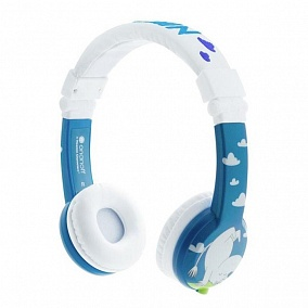 BuddyPhones Moomin Limited Edition Blue