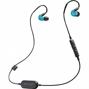 Shure SE215SPE-B-BT1-EFS Wireless Blue