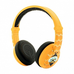 BuddyPhones Wave Bee Yellow