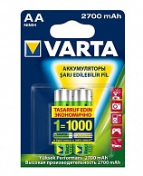 Varta High Output AA 2700 mAh (2 шт)