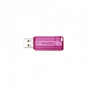 USB 2.0 Verbatim 32Gb Pin Stripe Pink