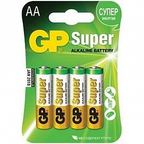 Батарейка AA - GP Alkaline Super 4 шт
